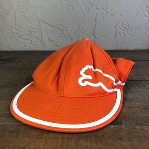 Puma orange flex fit baseball cap 7 1/4- 7 5/8